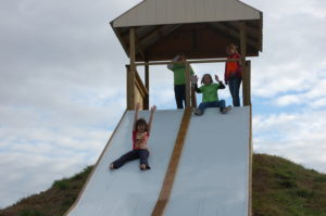 Have the slide of your life at Applejack Pumpkin Patch - Augusta, Kansas